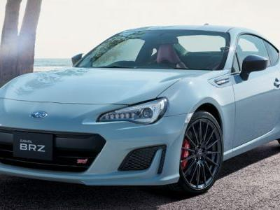 Japan-Only Subaru BRZ STI Sport Edition Looks Sleek