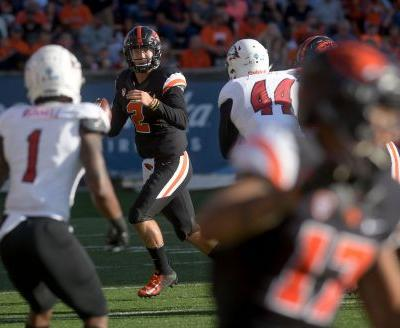 Jefferson's 4 TDs help Oregon State beat Southern Utah 48-25