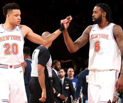 Knicks trying everything to unleash Kevin Knox's potential