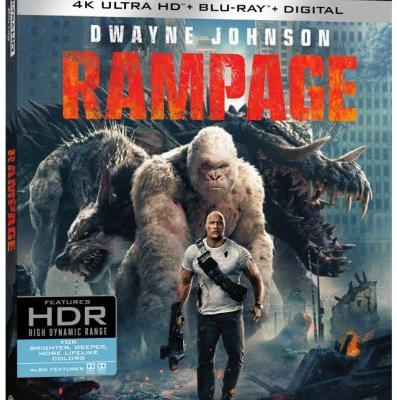 'Rampage' Starring Dwayne Johnson Set for 4K UHD, Blu-ray, 3D, DVD and Digital Release This Summer