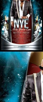30 Luxury New Years Eve Flyer Template Pics