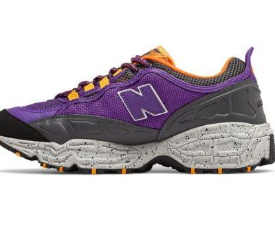 New Balance's 801 Trail Runner Receives a Royal Purple Makeover