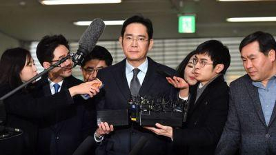 Samsung's Acting Chief Arrested In South Korea's Deepening Corruption Probe