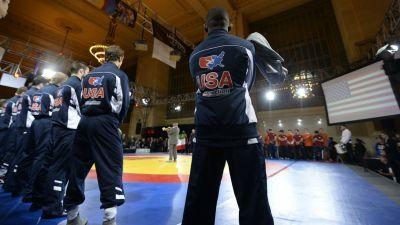 U.S. wrestlers barred from Iran competition in response to Trump travel ban