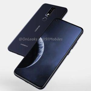 Nokia 8.1 Plus with hole-in-display design and dual-camera setup leaks