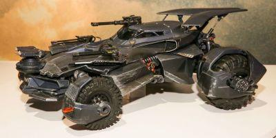Justice League Movie Batmobile Revealed in Toy Form