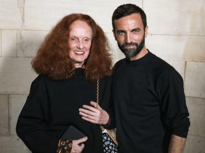 Grace Coddington and Nicolas Ghesquière on Working Together, Loving Animals and Shaping Fashion
