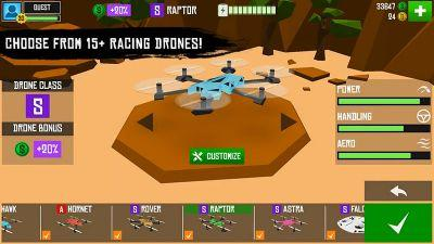 Dodge birds, planes, and rock formation in Drone Racer: Canyons, now out on Google Play