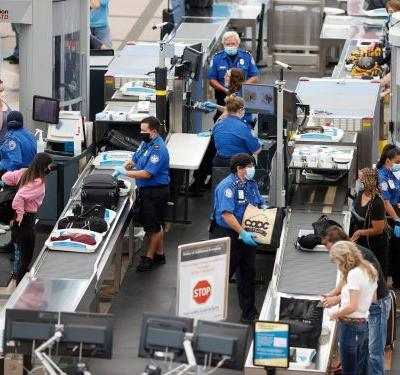 TSA 'significantly increased' security at DC airports ahead of Inauguration Day
