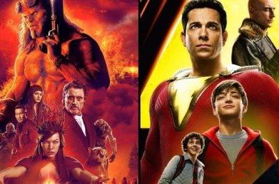 Shazam Wins 2nd Weekend with $25.1M as Hellboy Bombs at the Box
