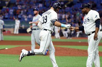 Avisail Garcia, Kevin Kiermaier club 3-run homers in 7th to power Rays past Dodgers