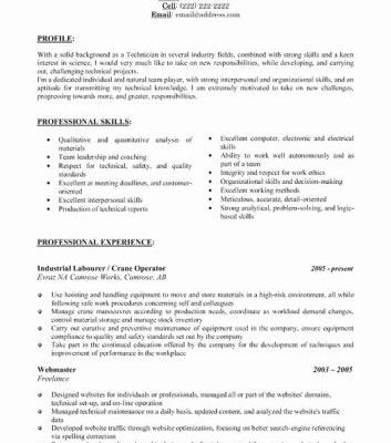 30 Beautiful Operation Manager Resume Template Pictures