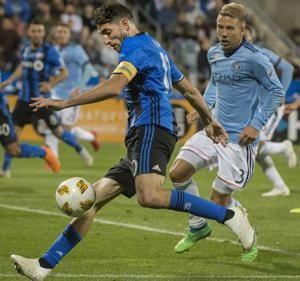 New York City FC ties Montreal 1-1