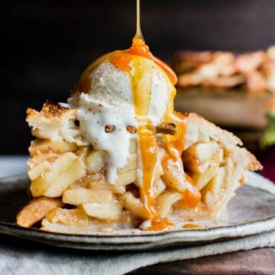 Apple Pie - Gluten Free + Vegan