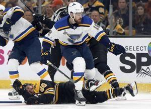 Lineup shuffling benefits Blues in Stanley Cup Final