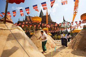 Cambodia sees a rise in tourist number during Khemer New Year