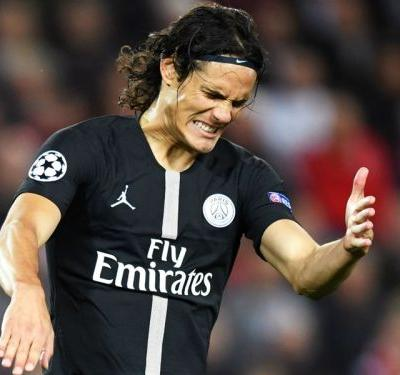 Cavani to miss PSG vs Man Utd Champions League last-16 clash