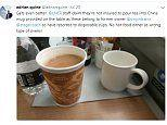 Train staff 'refuse to pour tea into mugs for first class passengers'