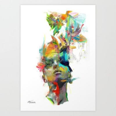 Crossconnectmag: Art Prints by Archan Nair Dream Theory |