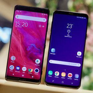 Sony Xperia XZ3 vs Samsung Galaxy S9+: first look at design, specs and features