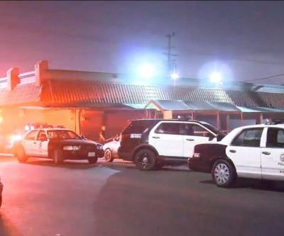 Infant dead, 2 hospitalized after found covered in white powder