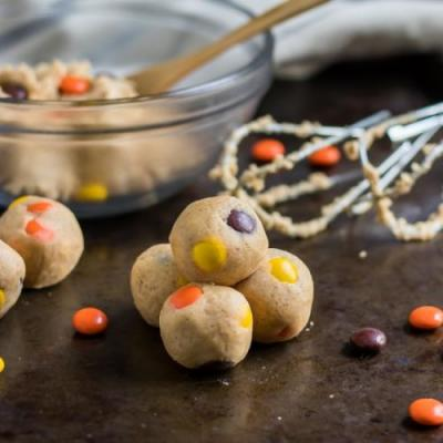 Reese's Pieces Cookie Dough Bites