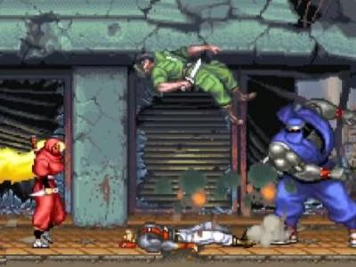 Retro remake The Ninja Warriors: Once Again is headed west