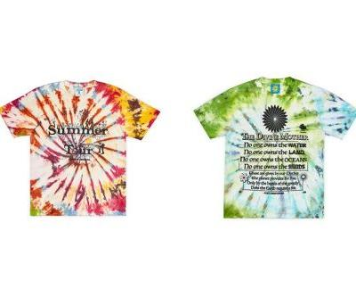 Online Ceramics Taps Climate Change, Nature & Spirituality For Trippy Tie-Dye T-Shirts