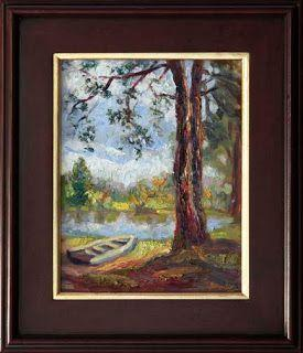 """New """"Resting Spot"""" Oil Painting by Texas Artist Niki Gulley"""