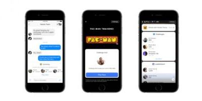Facebook brings 'instant' HTML5 games like Pac-Man to your News Feed and Messenger