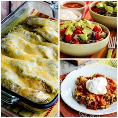 Ten Low-Carb Mexican Food Favorites You'll Make Over and Over!