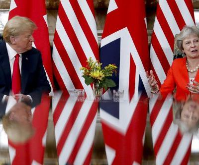 Trump says US supports Britain in Brexit talks