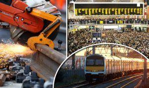 Easter travel chaos as U.K. Network Rail delivers £100m of upgrades