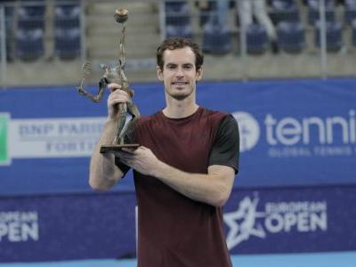 Tearful Andy Murray savors surprising European Open win