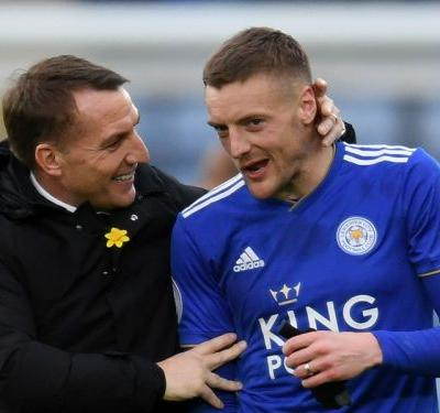 'He's absolutely top class' - Rodgers hails 'unselfish' Leicester centurion Vardy