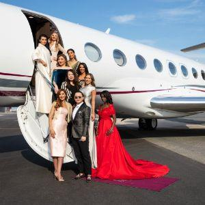 Qatar Airways Hosts Exclusive Fashion Show On Board Its Luxurious Qatar Executive G650 Private Jet
