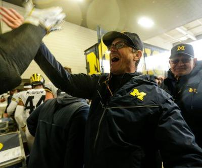 Jim Harbaugh, Mark Dantonio traded barbs after Michigan beat Michigan State