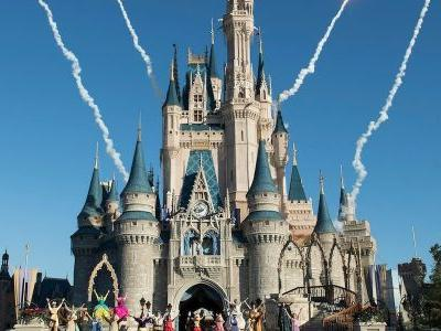 Disney Unveils Its Brand New Addition To Cinderella's Castle, And It's A Beaut