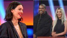 Kendall Jenner Disses Donald Trump, And Kanye Laughs On 'Celebrity Family Feud'