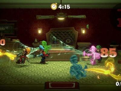 Luigi's Mansion 3 let's you take on ghosts with friends