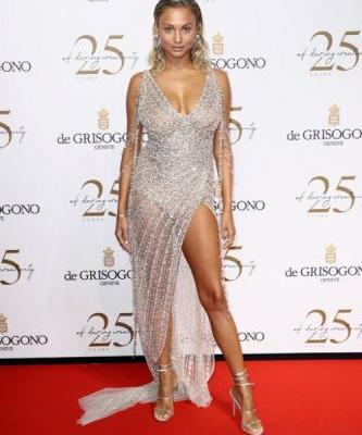 Rose Bertram attends the De Grisogono party during the 71st