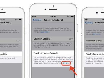 How to check battery health and disable iPhone battery performance throttling in iOS 11.3