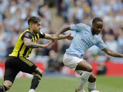 Man City completes sweep of English trophies with FA Cup win