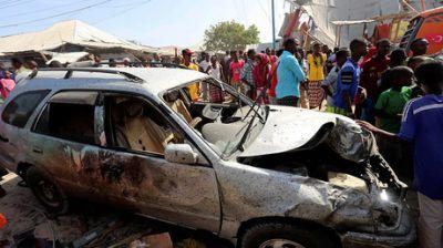 Suicide car bomb reportedly kills at least 20, injures dozens in Somali capital