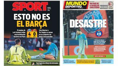 Barcelona labelled a disaster as stars slammed with brutal 2/10s player ratings