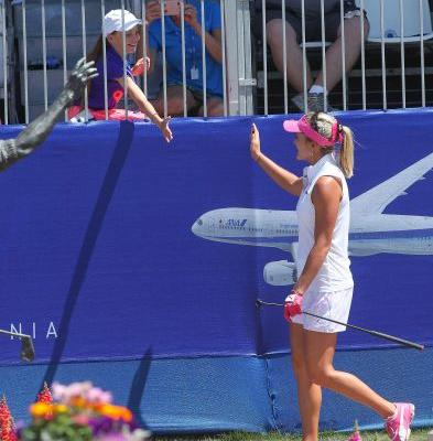 She's back: Lexi Thompson back on the leader board at ANA Inspiration