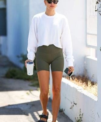 Hailey Bieber Wore the Buzzy Shoe Brand Fashion People Adore