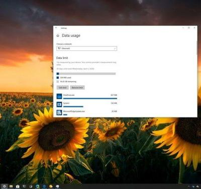 Using limited network connection? Here's how to control usage on Windows 10