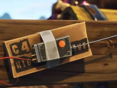 Remote explosives and bad llamas are coming to Fortnite
