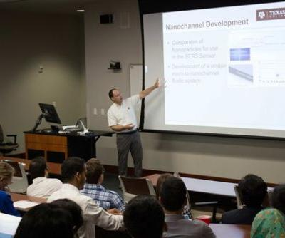 Biomedical engineering hosts research symposium